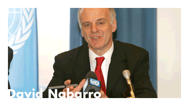 David Nabarro Website